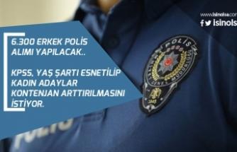 Önlisans ve Lisans 6300 Erkek Polis Alımı Yapılıyor! Adaylar Yaş, KPSS Şartının Esnetilmesini İstiyor!