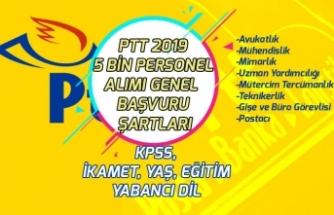 PTT 2019 Yılı 5 Bin Personel Alımı Ne Zaman Yapılacak? Genel Başvuru Şartları! İkamet, KPSS, Eğitim!