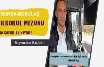 Bursa Burulaş 50 İlkokul Mezunu Şoför Alımı Yapacak!