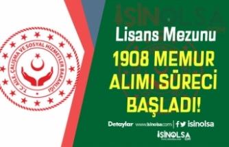 KPSS 2019/6 Tercihleri ile Kamuya Lisans 1908 Devlet Memuru Alımı Başladı!