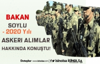 Soylu'dan Açıklama! Jandarma, Uzman Erbaş, Korucu Alınacak Mı?