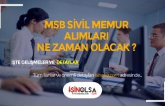 2019 MSB Sivil Memur Alımı ve Alım Şartları