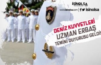 Deniz Kuvvetleri Komutanlığı 2019 Uzman Erbaş Temini Duyurusu Yaptı