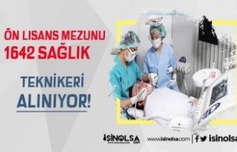 Diş Hastanelerine 168 Ön Lisans Mezunu Sağlık Teknikeri Alınıyor!