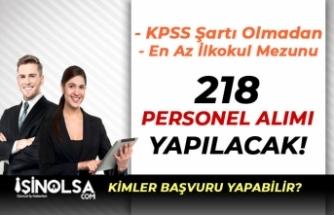 İSPER KPSS Şartı Olmadan Engelli ve Normal 218 Personel Alımı Yapıyor