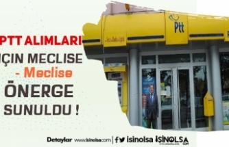 PTT Personel Alımı İçin CHP' li Milletvekili Önerge Sundu !