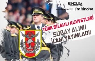 Türk Silahlı Kuvvetleri ( TSK ) Subay Alım İlanı Yayımlandı! Kimler Başvuru Yapabilir?