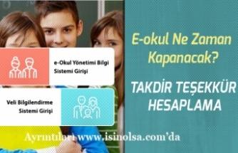 15 Tatile Günler Kaldı! VBS Not Girişi E-Okul Ne Zaman Kapanacak?