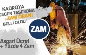 2020 Kadroya Geçen Taşerona Zam Oranları Belli Oldu! Asgari Ücret + Yüzde 4 Zam