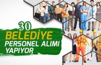 30 Belediyede Kurum Dışı Kamu İşçi Alım İlanı Açıklandı!