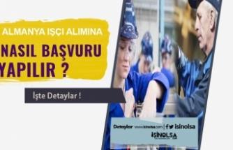 Almanya'ya Yüksek Ücretle Vasıflı veya Vasıfsız İşçi Alınacak! Türkiye'den Başvurular Nasıl Yapılır?
