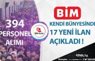 BİM Türkiye Genelinde 394 Personel Alım İlanı Açıkladı! Kasiyer, Ambar, Büro Memuru