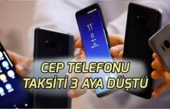 Cep Telefonu Taksitinde Yeni Dönem! Sınır 3.500 TL
