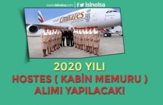 Emirates Hava Yolu Şirketi 2020 Yılı Kabin Memuru ( Hostes ) Alımı Başvuru Şartları