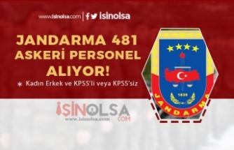 Jandarma 481 Askeri Personel Alımı Devam Ediyor! Kadın Erkek Adaylar