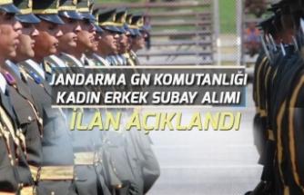 Jandarma ve Sahil Güvenlik Komutanlığına Subay Alımı Yapılacak!