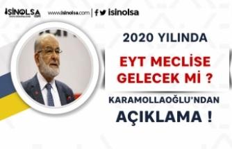 Karamollaoğlu'ndan EYT Çıkışı! Düzenleme Meclise Gelecek Mi?
