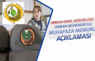 """OGM""""den 5 Bin Orman Muhafaza Memuru ile Mühendis Personel Alımı Açıklaması!"""