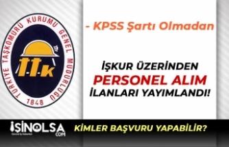 TTK 5 Pozisyon İle 64 Eski Hükümlü İşçi Personel Alım İlanı Yayımlandı!