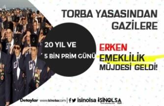 20 Yıl ve 5.000 Günden Emeklilik Bağlanacak! Torba Yasadan Kimlere Erken Emeklilik Çıktı?