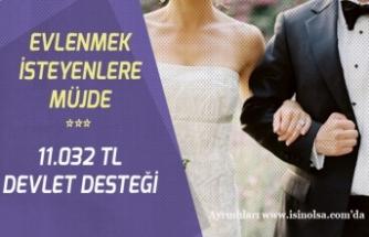 27 Yaşına Kadar Evlenene Çeyiz Hesabı ile 11 Bin 32 TL Devlet Desteği!