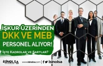 DKK ve Milli Eğitim Müdürlüğü İŞKUR Üzerinden Kamu Personeli Alıyor