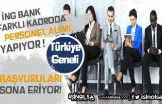 ING Bank 2020 Yılı Personel Alımları