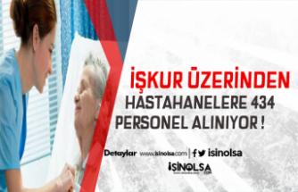 İŞKUR Üzerinden Hastanelere KPSS Şartsız 434 Personel Alımı Yapılacak!