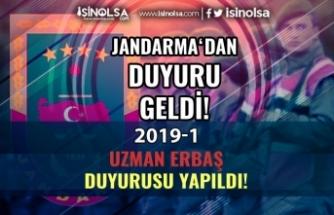 Jandarma 2019-1 Uzman Erbaş Alımı Hakkında Duyuru Yaptı! 4. Grup Duyurusu Ne Zaman?