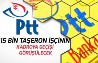 PTT'de Çalışan 15 Bin Taşeron İşçinin Kadroya Alınması Yönetim ile Görüşülecek!