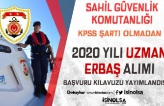 Sahil Güvenlik Komutanlığı 2020 Yılı KPSS'siz 175 Uzman Erbaş Alım İlanı Yayımlandı!