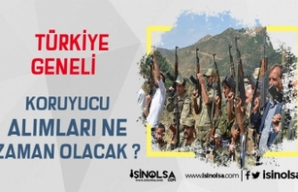 Türkiye Geneli Korucu Alımı Ne Zaman Olacak? Başvuru Şartları Neler?