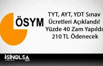 TYT, AYT, YDT Sınav Ücretleri Açıklandı! Yüzde 40 Zam Yapıldı 210 TL Ödenecek
