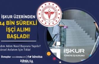 Sağlık Bakanlığı 14 Bin İşçi Alımı Başvuruları İŞKUR'da Başladı! Adım Adım Resimli Başvuru Yöntemi