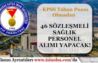 Kahramanmaraş Sütçü İmam Üniversitesi  46 Sözleşmeli Personel Alımı 2020
