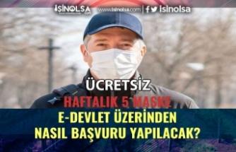 PTT, Ücretsiz Maske Başvuruları E-Devlet'ten Nasıl Yapılacak?