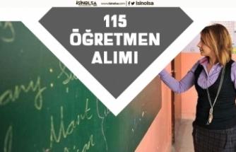 30 Farklı Branşta 115 Öğretmen Alımı Yapılacak! Başvuru Şartı!