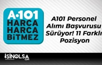 A101 Personel Alımı Başvurusu Sürüyor! 11 Farklı Pozisyon