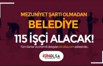 Kayseri Melikgazi Belediyesi 115 İşçi Alımı İlanı Yayımlandı!
