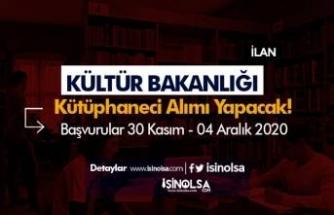 Kültür ve Turizm Bakanlığı KPSS İle Kütüphaneci Alımı İlanı Yayımladı!
