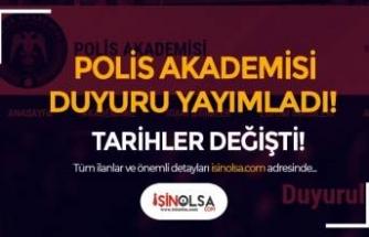 Polis Akademisi: Başpolis Memurlarının İlk Derece Amirlik Eğitim Duyurusu