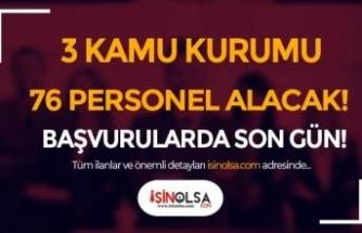 YÖK, KİK ve Gaziosmanpaşa Üniversitesi 76 Kamu Personeli Alımı Sona Eriyor