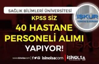 Afyonkarahisar Sağlık Bilimleri Üniversitesi KPSS Siz 40 Hastane Personel Alımı