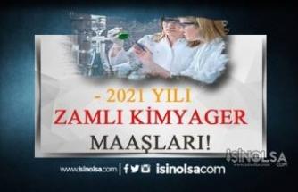 2021 Kimyager Maaşları