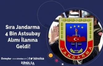 Sıra Jandarma 4 Bin Astsubay Alımı İlanına Geldi!