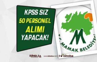 Ankara Mamak Belediyesi 50 Kamu Hizmeti Personeli Alımı Yapacak