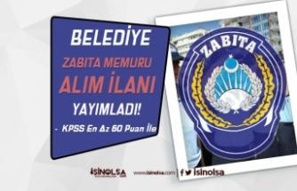 Karapınar Belediyesi 60 KPSS Puanı İle Zabıta Memuru Alımı İlanı Yayımlandı!