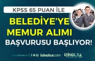 KPSS 65 Puan İle Memur Alımı 5 Nisan Başlıyor! İşte Kadro ve Şartlar