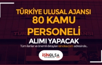 Türkiye Ulusal Ajansı 80 Kamu Personeli Alacak! Lise ve Lisans
