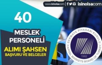 SPK 40 Meslek Personeli Alımı Şahsen Son Başvurular Ne Zaman?